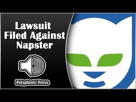 Lawsuit Filed Against Napster [Music History]