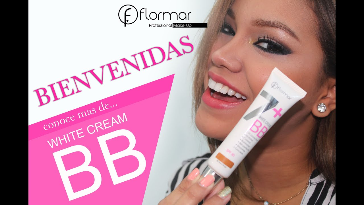 Flormar Make Up - Tutorial BB White Cream - YouTube