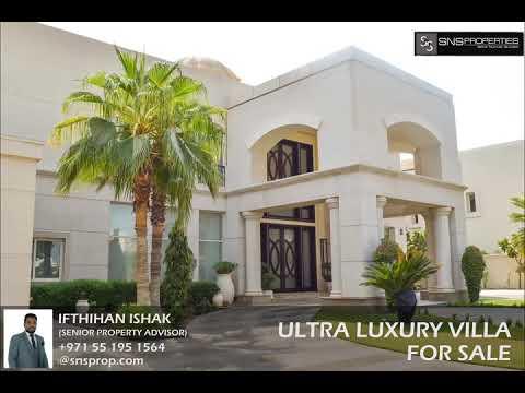 Emirates hill luxurious villa
