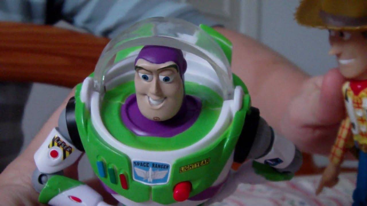Toy Story Com Brinquedos Verdadeiros Youtube