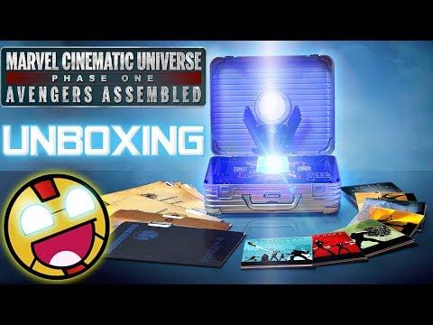 UNBOXING | Marvel Cinematic Universe Phase ONE