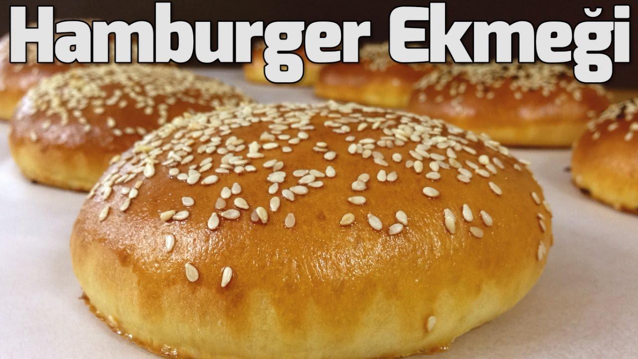 Ev yapımı hamburger ekmeği tarifi yapılışı