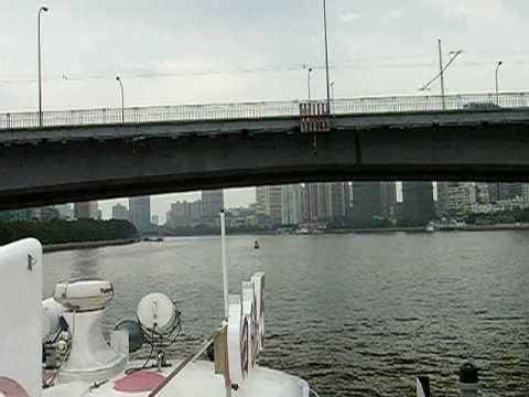 Jiangwan Bridge from the Pearl River Ferry