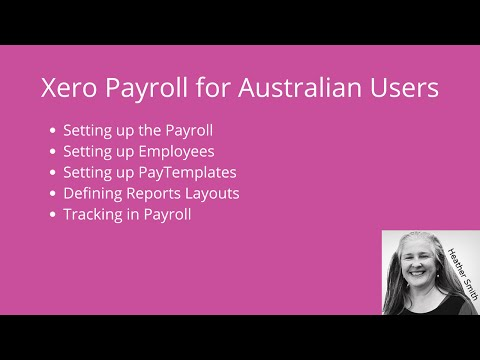 Setting Up Xero Payroll: Australian Users