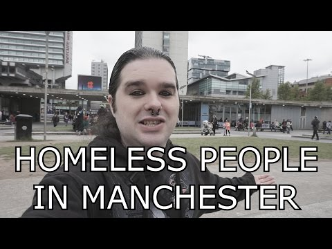 Helping The Homeless Camp In Manchester - MixtLupus VLogs