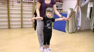 Художественная гимнастика для малышей