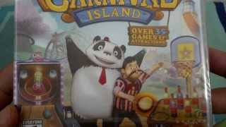 [Unboxing - PS3] Carnival Island - PT-BR