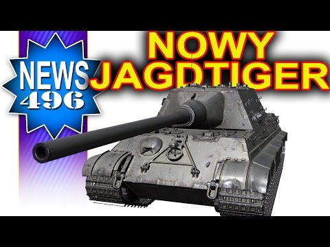 Nowy Jagdtiger (H) premium - NEWS - World of Tanks