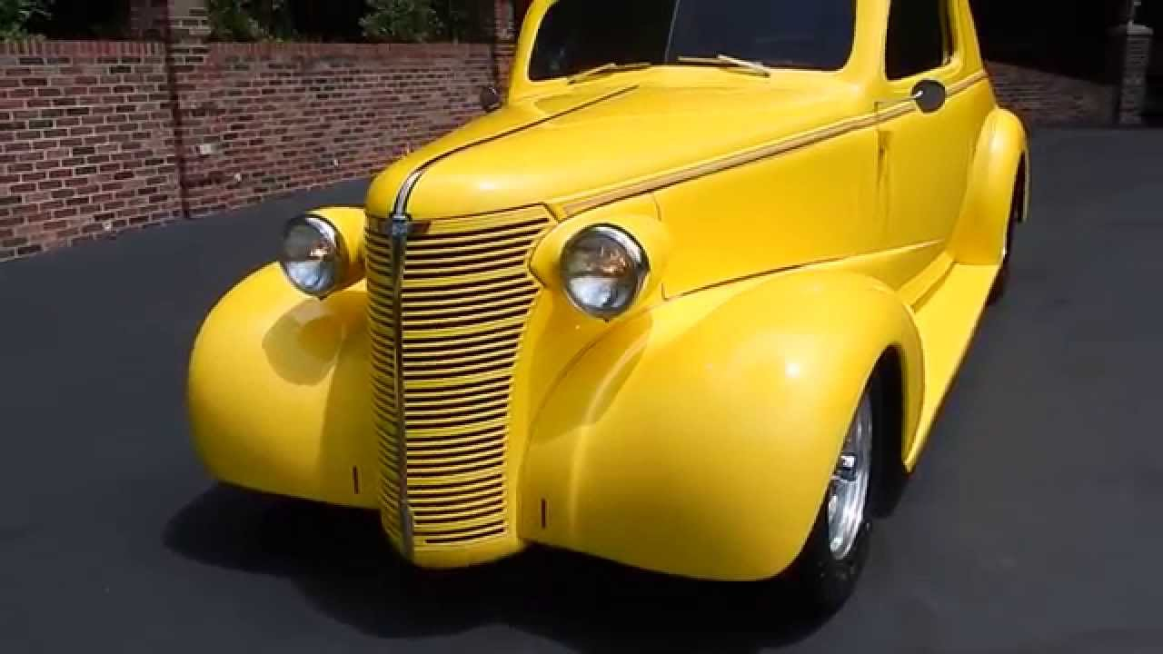 1938 Chevy Street Rod Coupe yellow for sale Old Town Automobile in ...