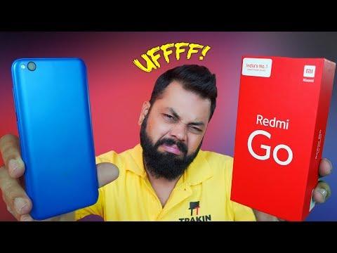 REDMI GO Retail Unit Unboxing & First Impressions ⚡⚡⚡ पैसा वसूल या पैसा बरबाद??