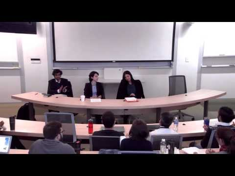 SU College of Law LLM Program Special Panel on the Syria Refugee Crisis