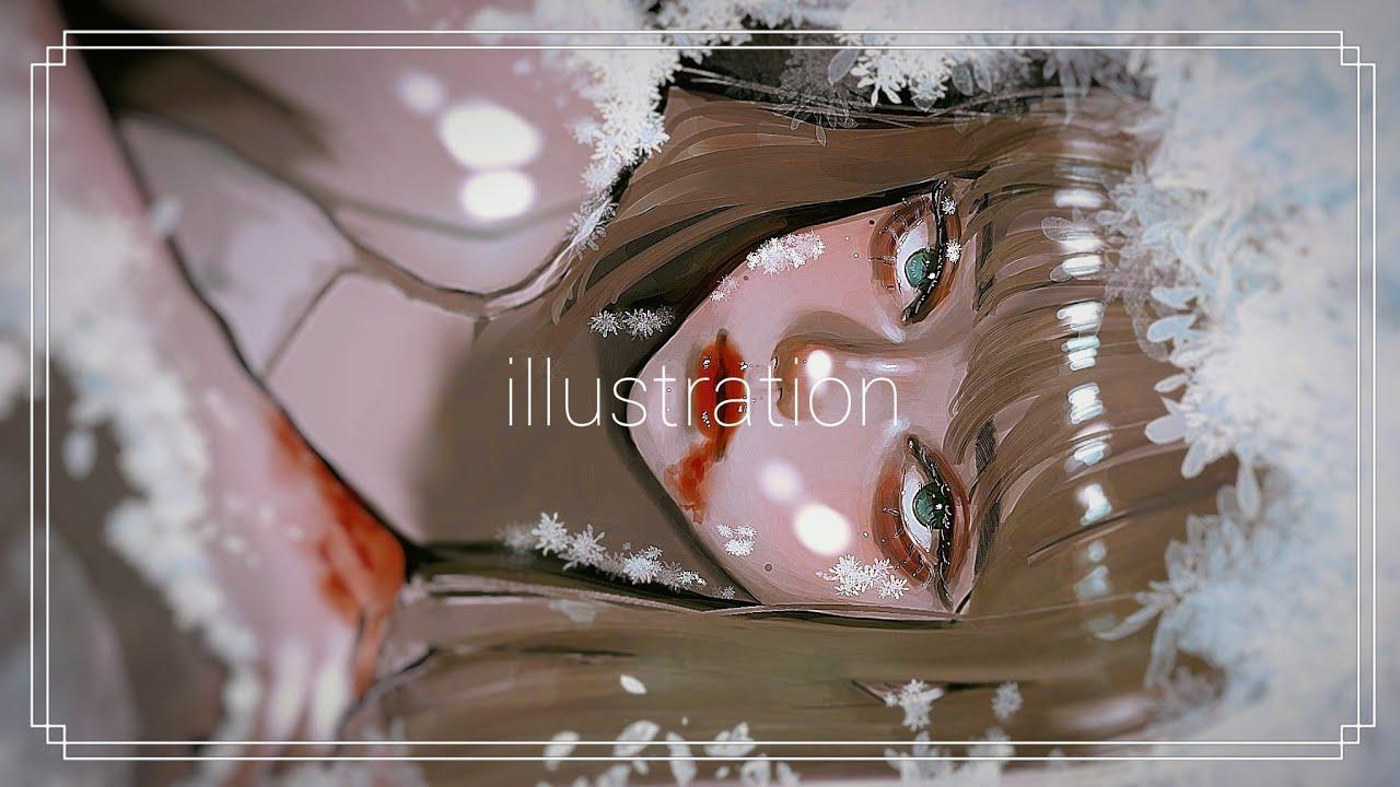 【イラストメイキング】【厚塗り】illustration by yun