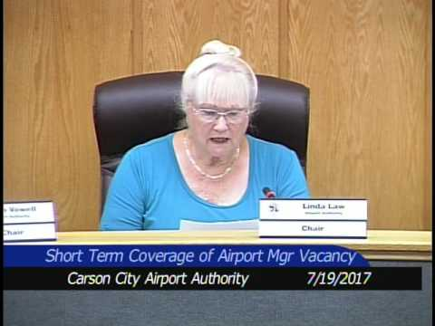Airport Authority Meeting 7/19/2017