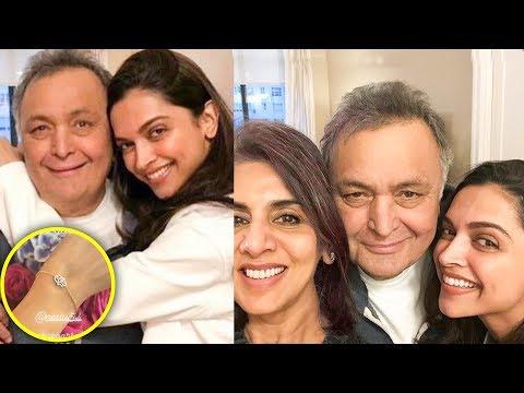 Deepika Padukone Gets A Bracelet From EX Ranbir Kapoor's Mom Neetu Kapoor