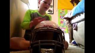 Riddell revolution attack youth football helmet review.