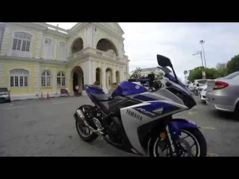 YAMAHA YZF-R25 with Slip-on by SC Project