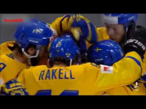 Game highlights: Sweden - Latvia 3-2 goals IIHF 2018 1080HD Ruotsi - Latvia | RonttiFIN-Sports