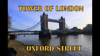 TOWER OF LONDON    The Shard    OXFORD STREET
