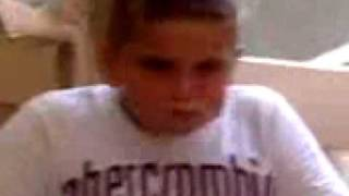 fat tricked funny donuts kid eating