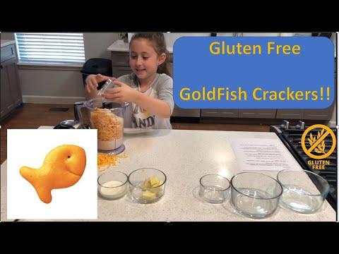 Making Gluten Free Gold Fish  -Celiac Safe