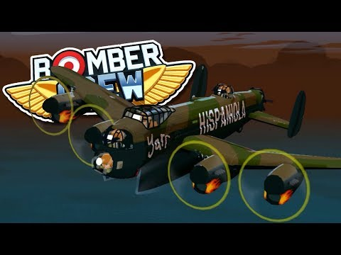 SUBMARINE HUNTER! Bomber Crew - FTL-like crew management gameplay
