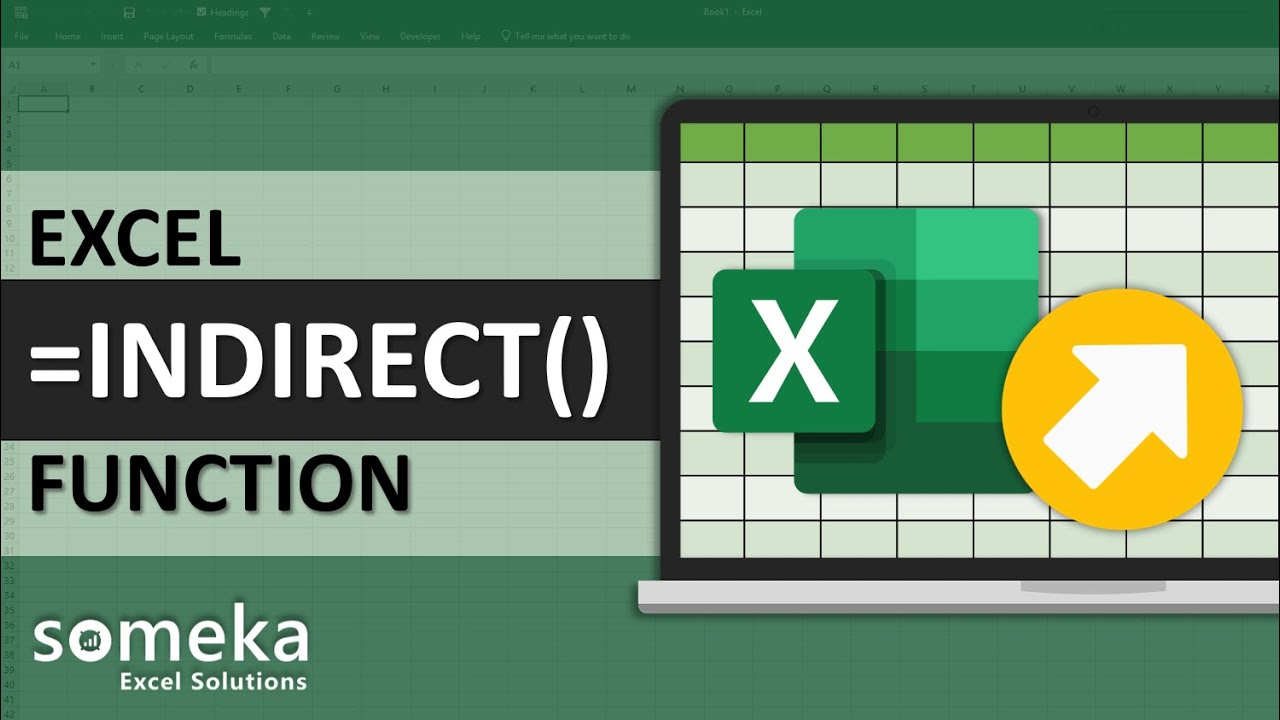 Excel indirect function explained with examples excel formulas.