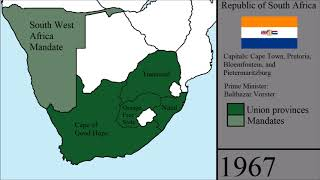 The History of South Africa: Every Year