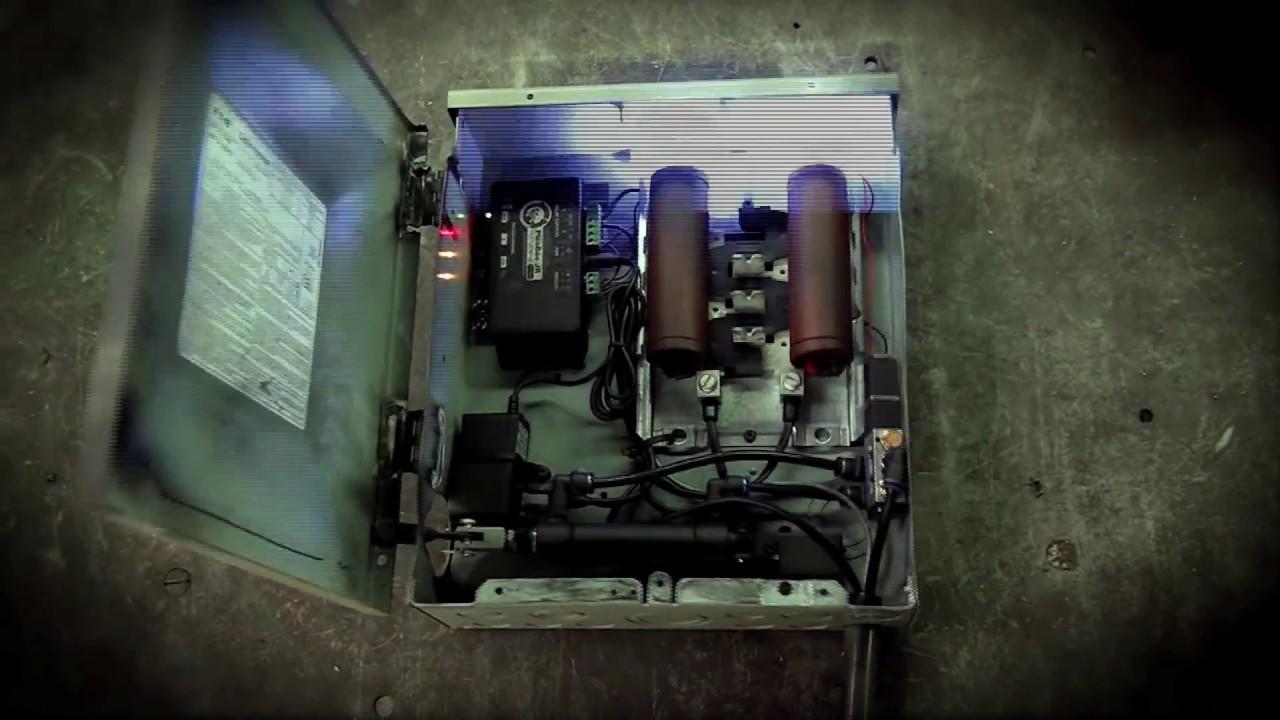 small exploding fuse box halloween prop [ 1280 x 720 Pixel ]