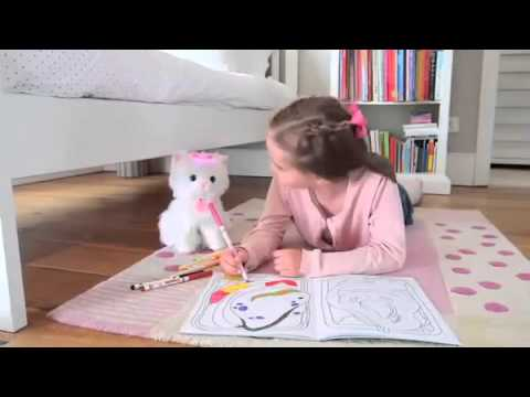 Animagic Kotek Interaktywny Fifi Chodzi świeci Reklama Tv Youtube