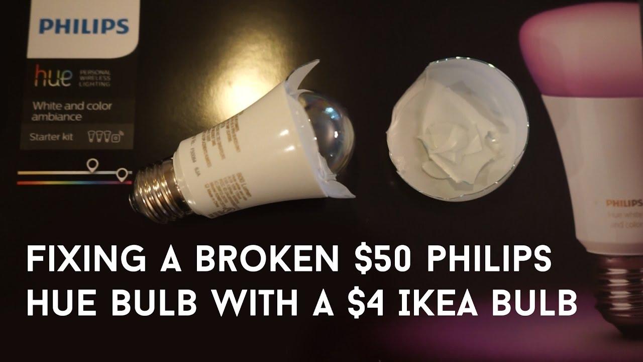 How I Repaired My Broken Philips Hue Bulb Youtube