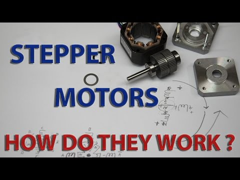 Salvaging useful parts from copy machines stepper mot for How does a stepper motor work