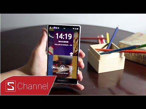 Schannel - Đánh giá nhanh Sharp Aquos Zeta SH-04F: Smartphone không viền, thiết kế đẹp