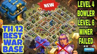 NEW TH12 WAR BASE ANTI 2 STAR | TH12 ANTI EVERYTHING | TH12 BASE | CLASH OF CLANS