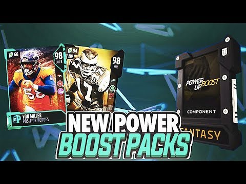 CAN WE PULL ANOTHER LTD? 3X POWER UP BOOST, LEGEND FANTASY PACKS, AND MORE! MADDEN 18 PACK OPENING