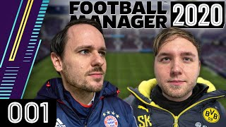 Der ultimative Kampf um die Meisterschaft: BVB vs. FCB | Football Manager 2020 mit Tobi & Sandro #01