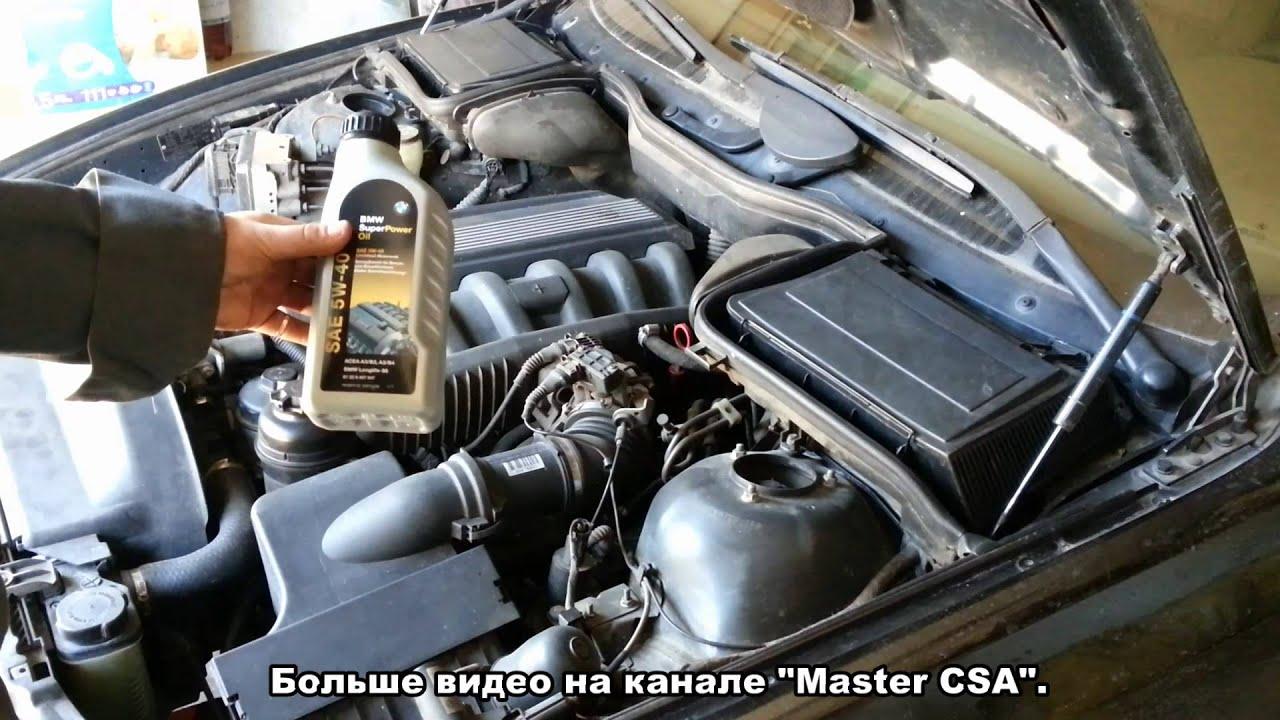 какое масло в BMW e53 дизель