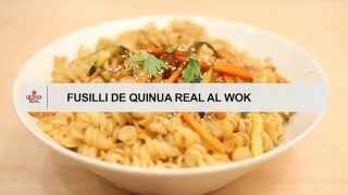 Fusilli de Quinua Real al wok
