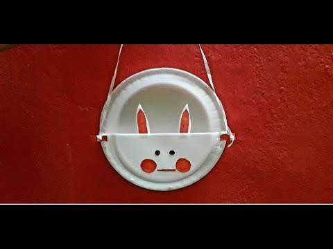 How to create cute animals using paper plates || A beautiful DIY decor craft from paper plate