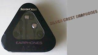 Обзор наушников SILVER CREST EARPHONES