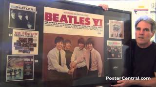 Beatles Vi Promotional Display 1965 Capitol Records