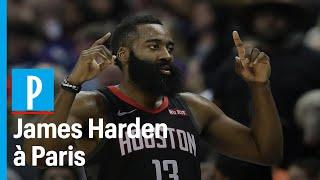 James Harden, star de NBA, rencontre des jeunes basketteurs