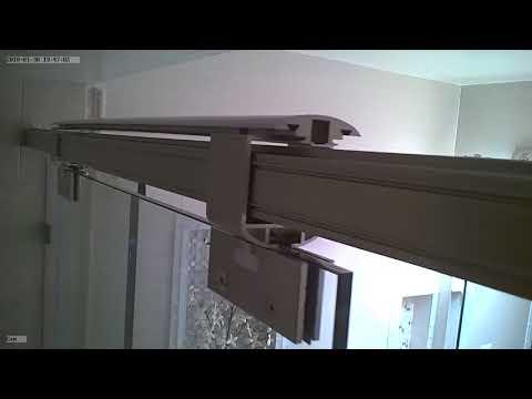 Floating Shower Door, pocket door, barn door...Any sliding door