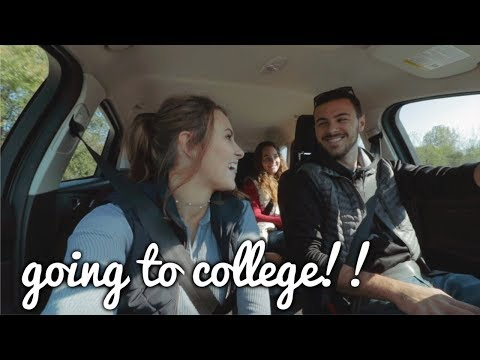 GOING TO COLLEGE!!! Huntington University Vlog