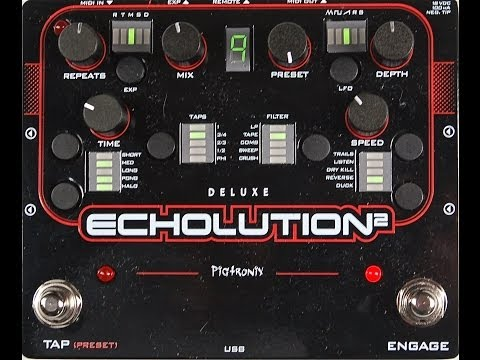 Pigtronix Echolution 2 Deluxe Delay