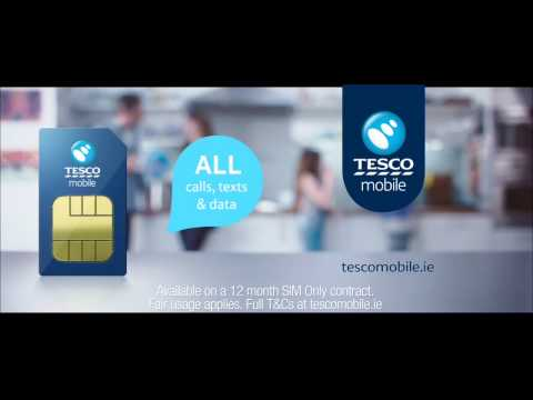 Flick The Switch- SIM Only €25 A Month   Tesco Mobile