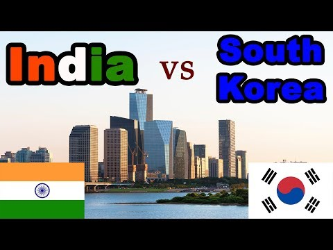 INDIA vs SOUTH KOREA Country Comparison