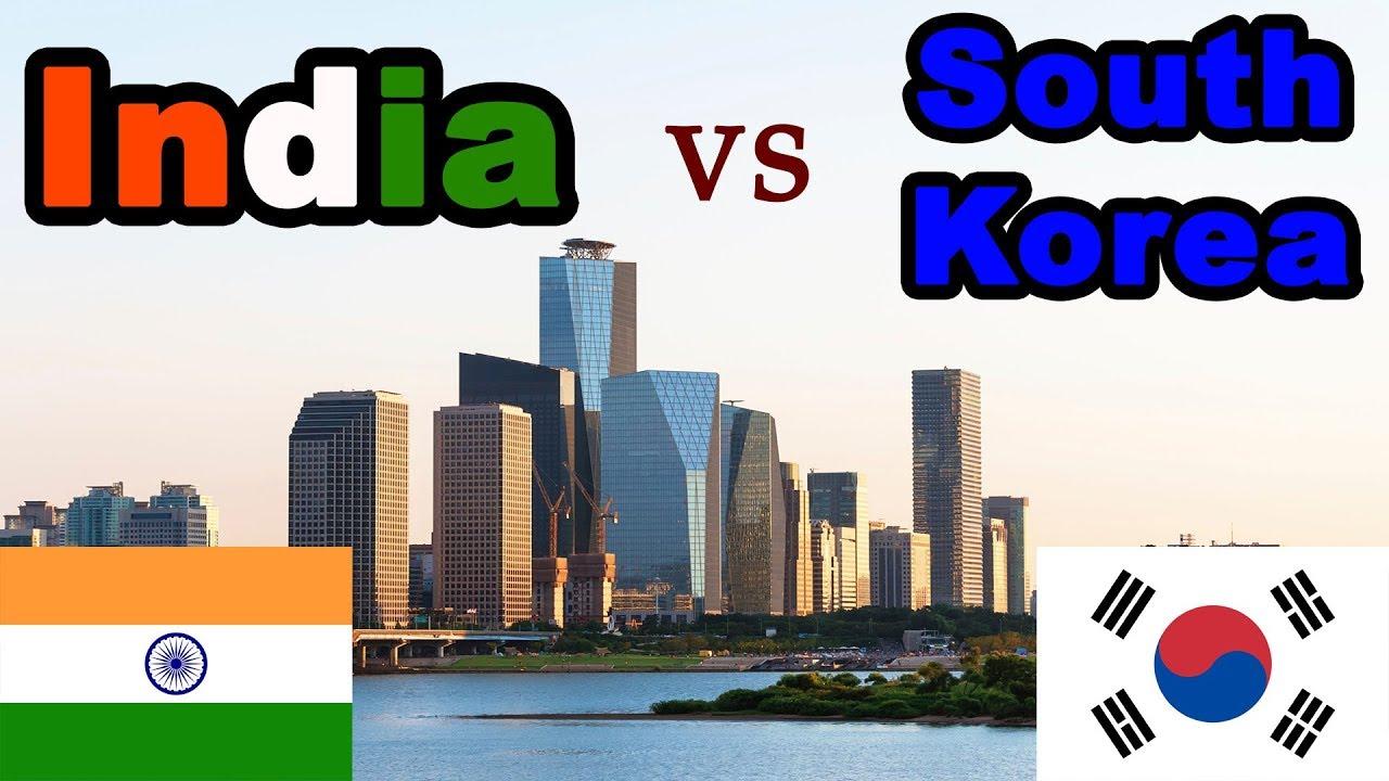 Download INDIA vs SOUTH KOREA Country Comparison