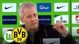 Goldenes Reus-Tor | VfL Wolfsburg - BVB 0:1 | PK mit Lucien Favre