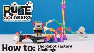 Spin Master | How To: The Robot Factory Challenge - Rube Goldberg