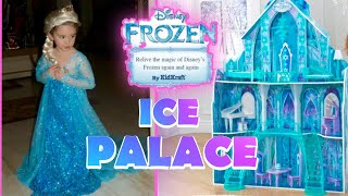Disney FROZEN Arendelle Castle Ice Crystal Palace by KidKraft | Katie's CHRISTMAS PRESENT | SURPRISE